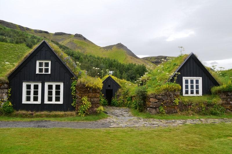 casa isolata in montagna